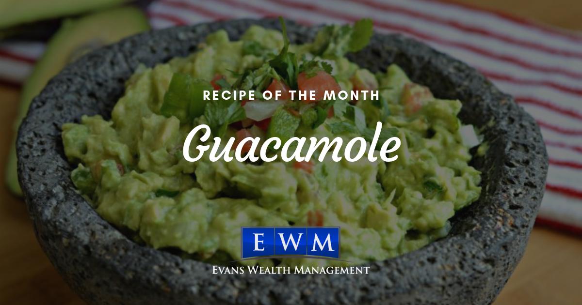 Recipe of the Month: Guacamole
