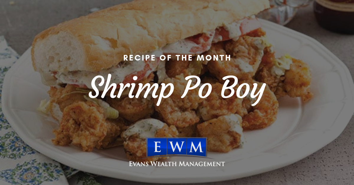 Recipe of the Month: Shrimp Po' Boy