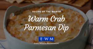 Recipe of the Month: Warm Crab Parmesan Dip