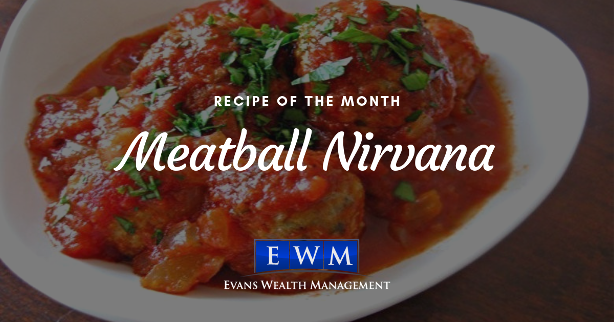 Recipe of the Month: Meatball Nirvana