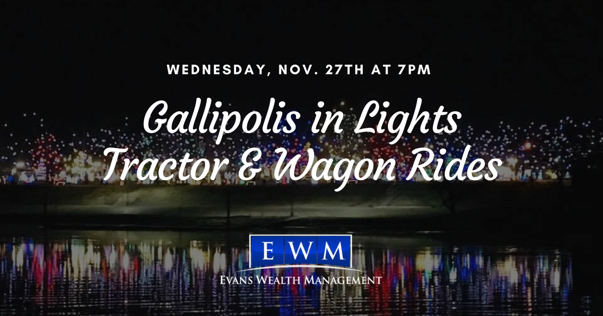 You're Invited! Annual Tractor & Wagon Rides Event at Gallipolis in Lights