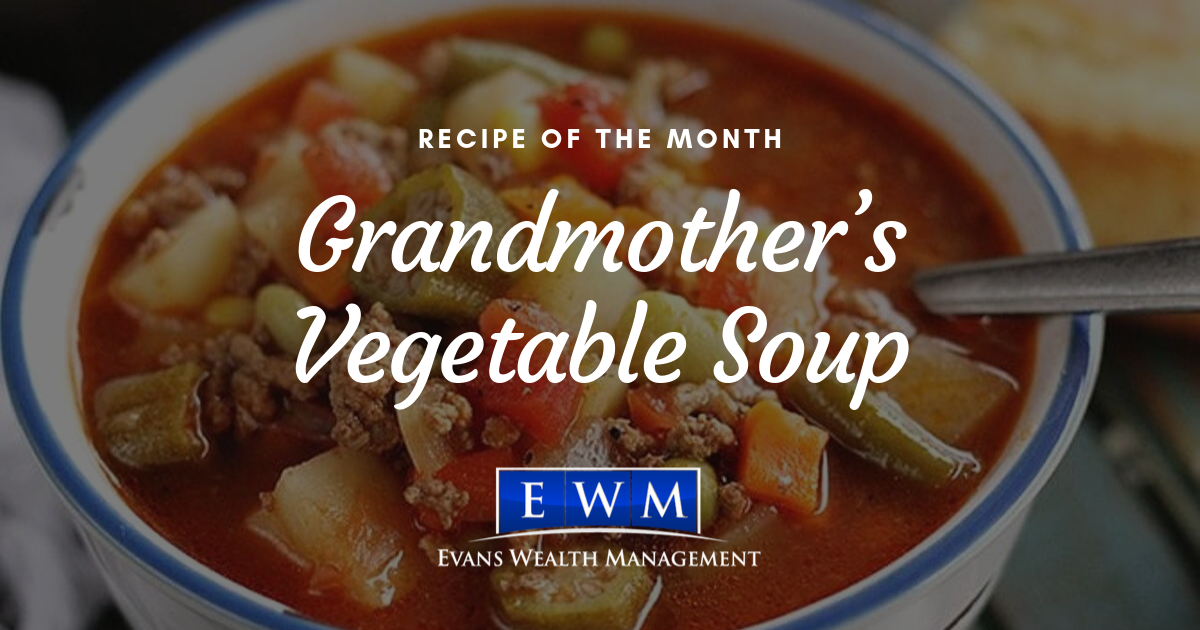 Recipe of the Month: Grandmother's Vegetable Soup