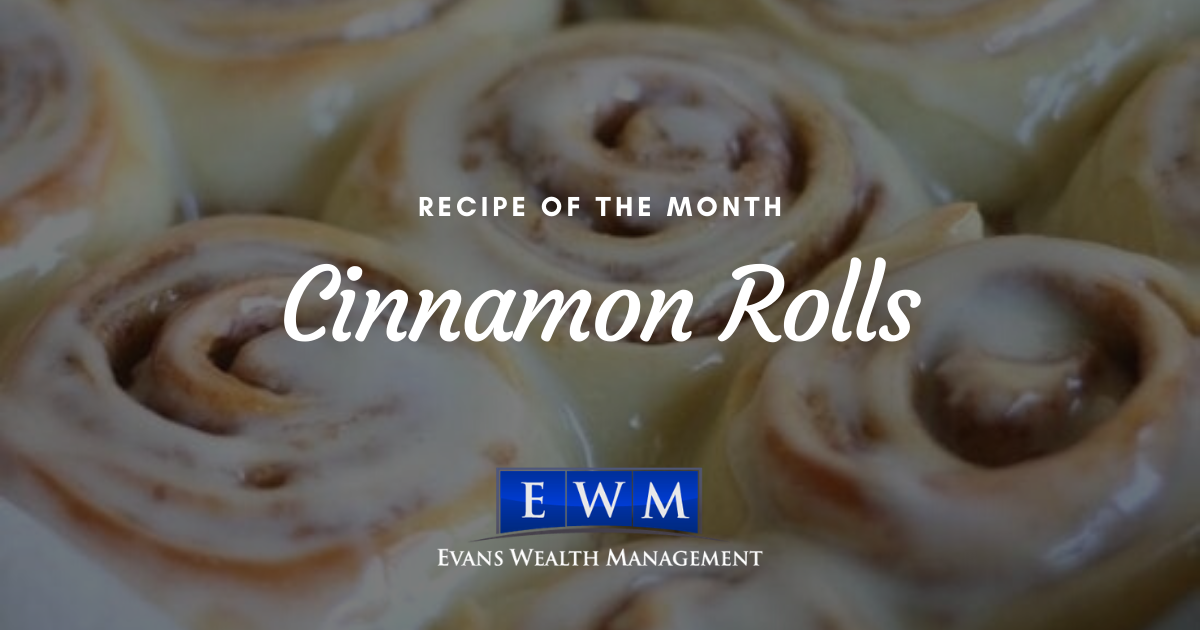 Recipe of the Month: Cinnamon Rolls